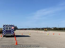 Units operate on the course at Misquamicut State Beach.